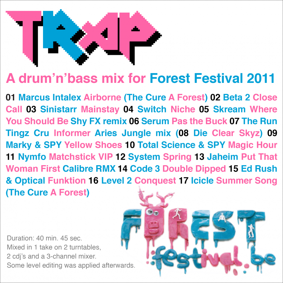 Forest Festival promo cover
