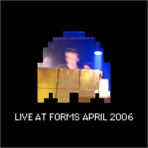 Live @ FORMS cover